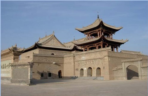 Tongxin Great Mosque: Located in the western suburb of Tongxin County, it is the largest and oldest extant Islamic mosque in Ningxia Hui Autonomous Region. Originally built in the early Ming Dynasty
